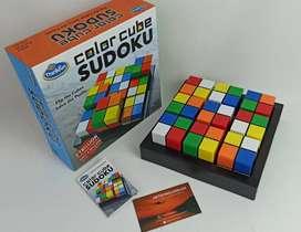 Juegos de lógica y pensar para niños ThinkFun Color Cube Sudoku Juegos de lógica y razonamiento