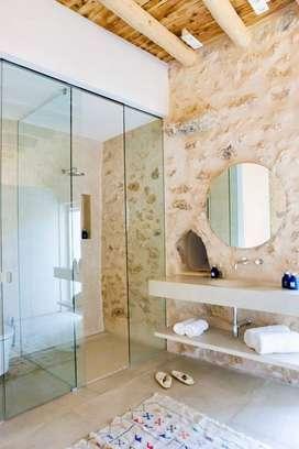Baños en piedra natural