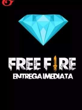 venta de diamantes para Free Fire