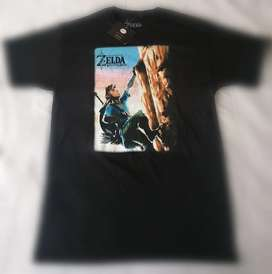 Camiseta the legend of zelda breath of the wild Nintendo nueva