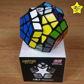 Cubo Rubik Megaminx Qiheng Qiyi Speedcube - Negro