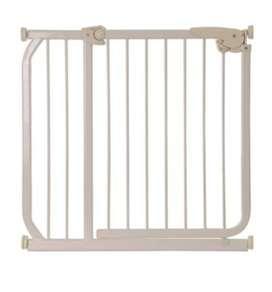 Puerta de seguridad en acero beige