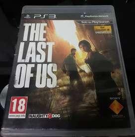 Vendo juego The last of Us ps3