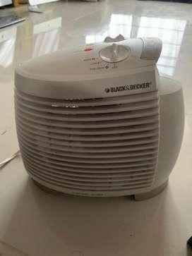 Calefactor Black&Decker sin fallas cambio