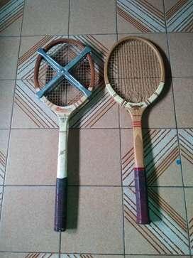 Raqueta Tenis De Madera, Henry Llasat de Colección