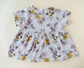 Conjunto bebé niña Zara Baby - Talla 6-12 meses