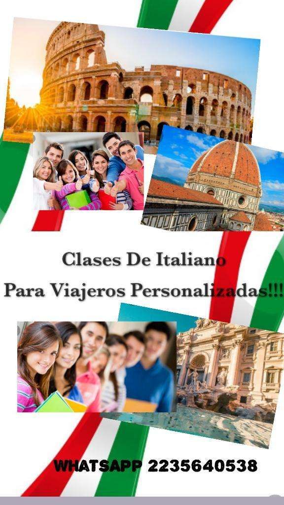Clases de Italiano para Viajeros 0