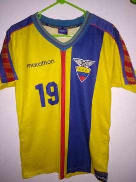 Camiseta original de la selección de Ecuador.