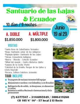 Tour Ecuador salida de bucaramanga