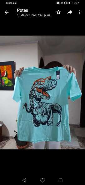 Camisetas para niño talla 14 nuevas