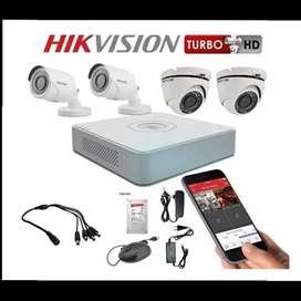 Súper combo de cámaras de seguridad de 1080p alta resolución