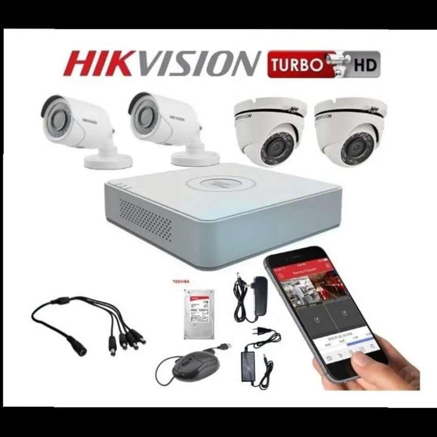 Súper combo de cámaras de seguridad de 1080p alta resolución 0