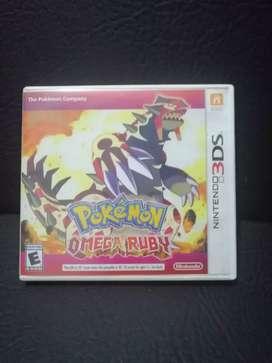 Pokemon omega ruby nintendo 3DS en español y multilenguaje