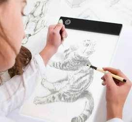 Tableta gráfica de tablero de copia Digital A4 para Panel de visualización de señal de dibujo, plantilla luminosa, artis