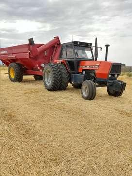 Vendo cosechadora,tractor y monotolva