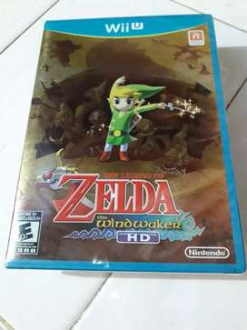 The legend of Zelda windwalker hd