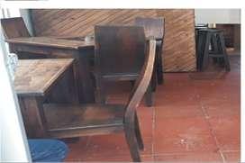 vendo mesas para restaurante