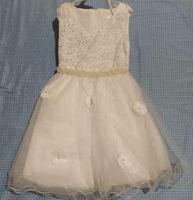 Vestido para bebe elegante, para bautizos o cumpleaños
