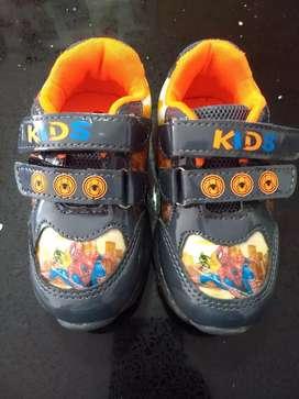 Zapatos Spiderman Niño Nuevos