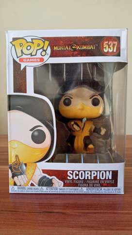 FUNKO POP Scorpion (con caja NUEVO)
