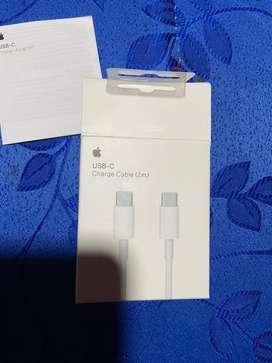 Cable USB- C a USB-C 2 mt