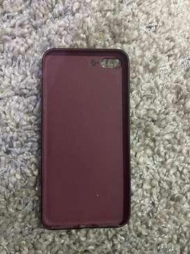 Estuche de Iphone 7 Plus Color Vino