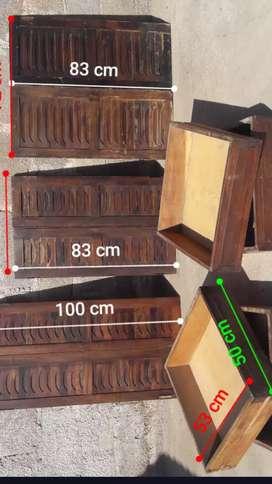 Puerta y cajónes para muebles o alasenas