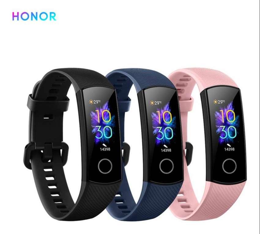Huawei Honor Band 5 + 4 protectores de pantalla 0