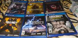 Vendo juegos PS4
