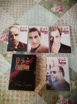 Saga del padrino y rocky en dvd originales
