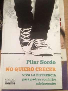 NO QUIERO CRECER-PILAR SORDO/NORMA