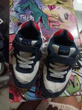 Zapatos polo de niño