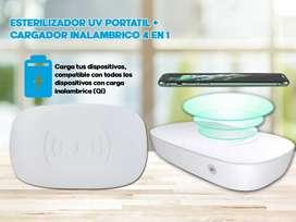 caja esterilizadora UV portátil