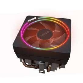 Cooler CPU - AMD Wraith Prism Ventilador refrigerador LED RGB