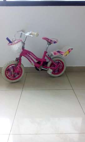 Bicicleta para nia