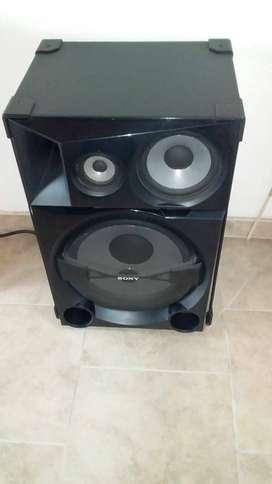 ¡GANGA¡ Equipo de sonido marca Sony.