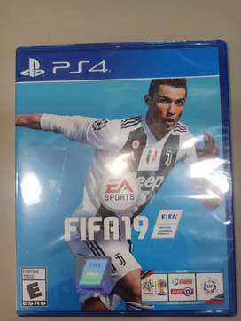 FIFA 19  PS4 Original Nuevo y sellado