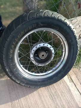 Vendo rueda de moto rodado 15