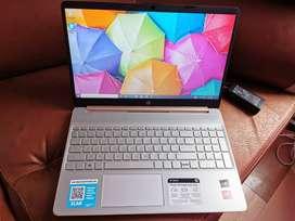 Portatil Alto Rendimiento HP Ryzen 5 3500U, 8GB ram DDR4, 256GB m.2, Bateria larga duracion