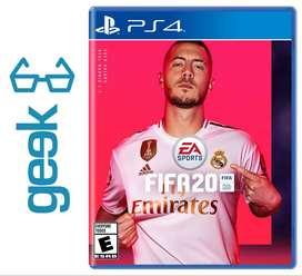 FIFA 20 PS4 - Nuevos Sellados y Garantizados - Ecuador Geek