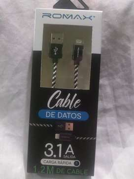 Cable de datos Romax iPhone