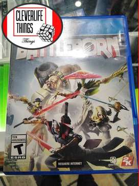 JUEGO ORIGINAL USADO OFICIAL PLAY 4 STATION PLAY CON MANUAL BATTLEBORN