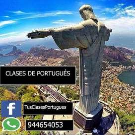 CLASES PERSONALIZADAS DE PORTUGUÉS ONLINE PARA TODO EL PERÚ