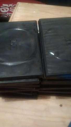 Cajas de Dvd Negras en Buen Estadp4pesos