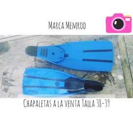 Chapaletas marca Memrod