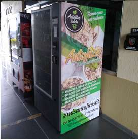 Maquina Expendedora (Vending) de Snacks