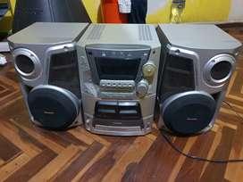 Equipo de Sonido Philips SA-AK52 Super Woofer