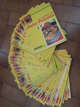 Coleccion de revistas Doña Petrona y otras de cocina