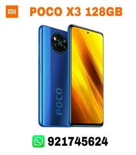 XIAOMI POCO X3 NFC 128GB 6GB RAM NUEVOS SELLADOS!!