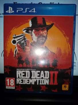 Vendo juego red dead redention 2